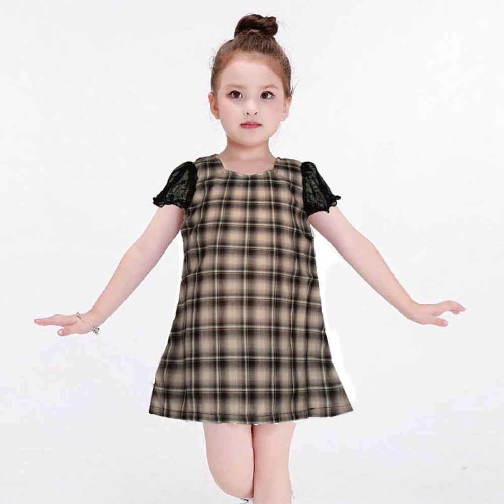 Safina Kid's Connecticut Short Sleeve Frock Girl's Frock Bohotique 2-3 Years