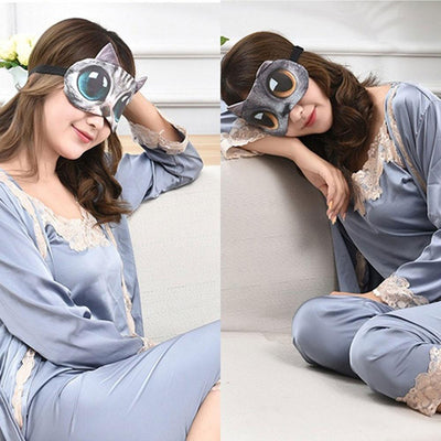 Animal Printed 3D Sleeping Mask Eyewear Sunshine China