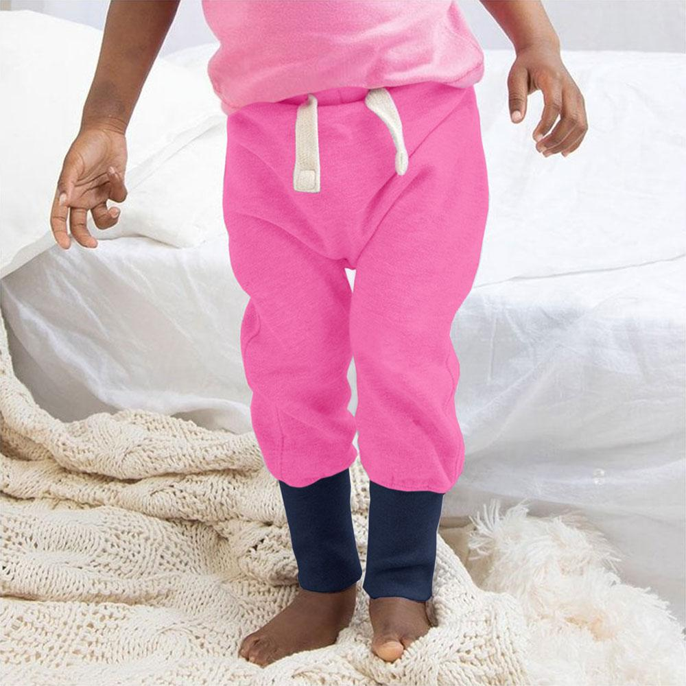 498b08573e4f75 MTS Bobingen Sweat Pants Boy's Sweat Pants Image Pink Navy 12-18 Months