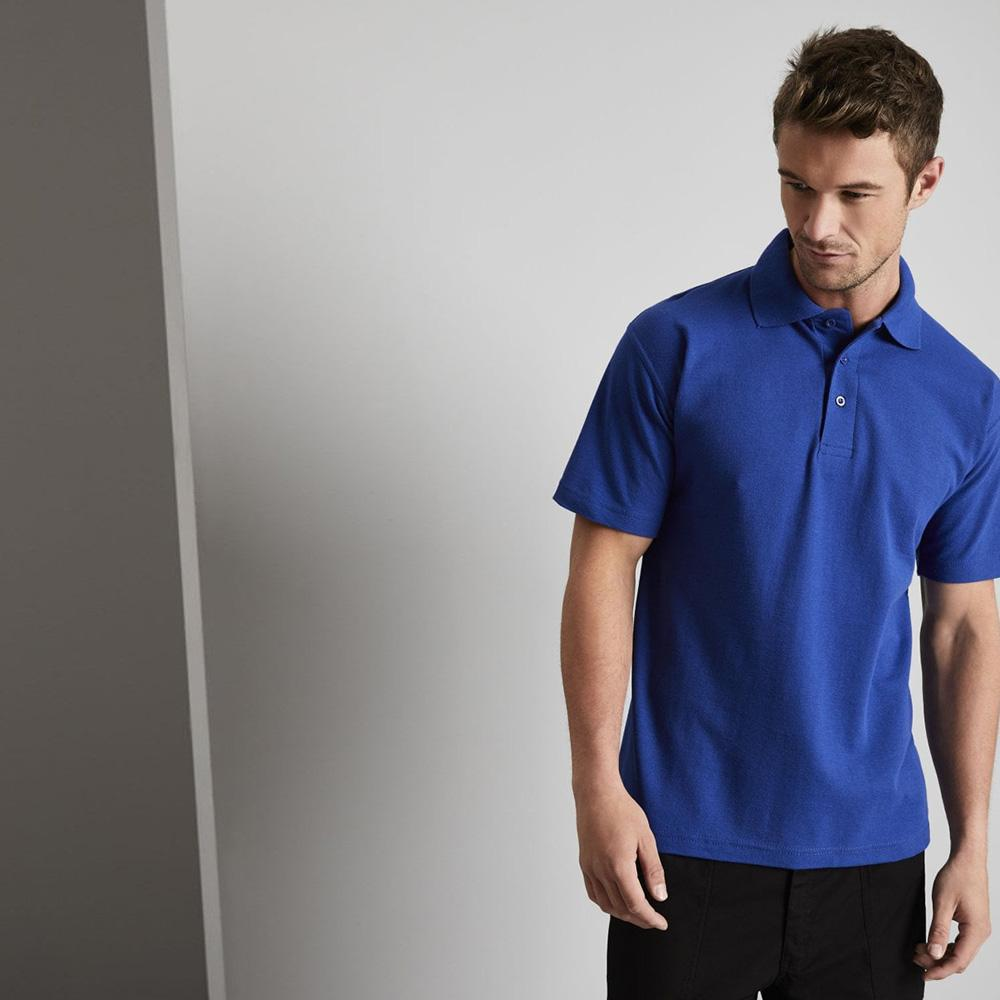 SJ Beeskow Men's Polo Shirt Men's Polo Shirt Image Royal XXS