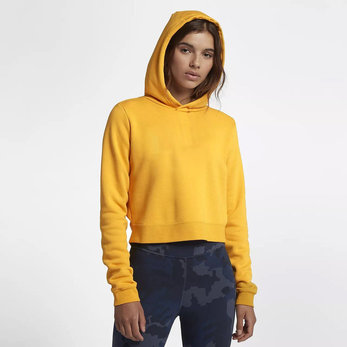 Tally Weijl Women's Minor Fault Fleece Cropped Hoodie Minor Fault SRK Yellow S