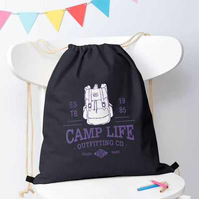 Polo Republica Camp Life Drawstring Bag Drawstring Bag Polo Republica Dark Graphite