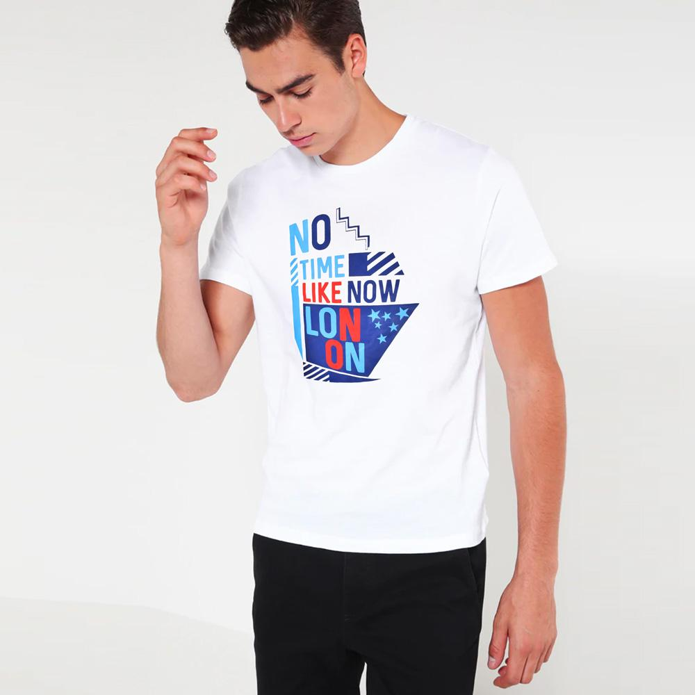DCK No Time Like Now Tee Shirt Men's Tee Shirt Image White XS
