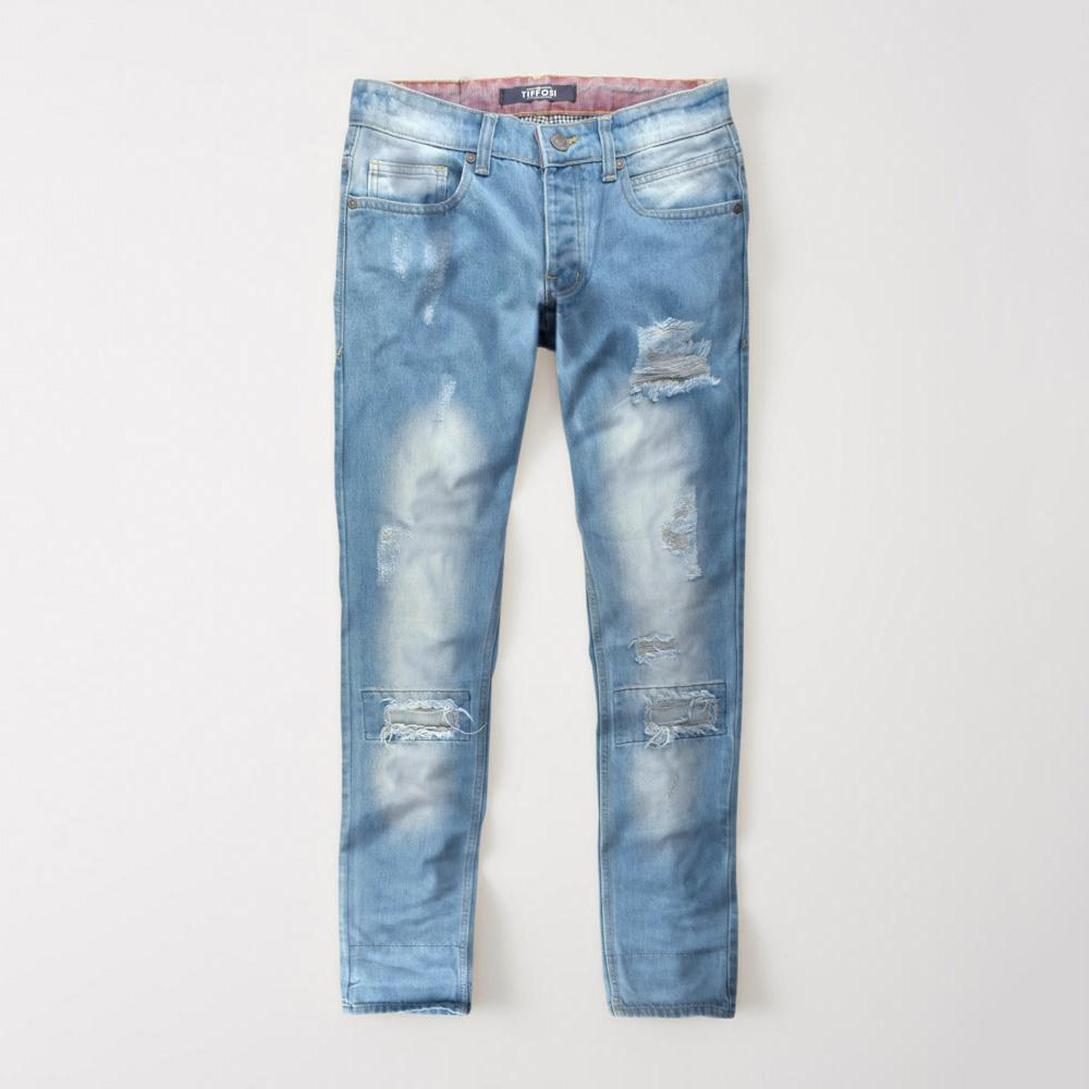 TFSI Senador Distressed Straight Fit Denim