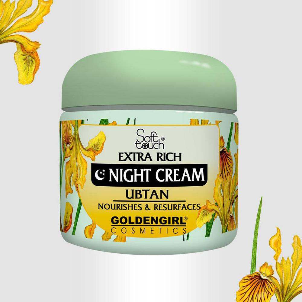 GGC Soft Touch Extra Rick Ubtan Night Cream Health & Beauty Golden Girls Cosmetic