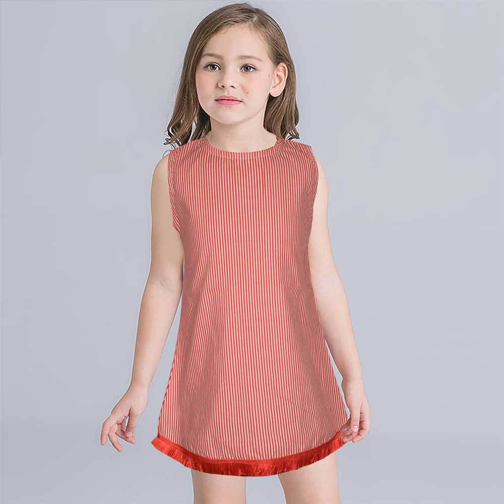 Safina Kid's Pordenone Sleeveless Frock Girl's Frock Bohotique 2-3 Years