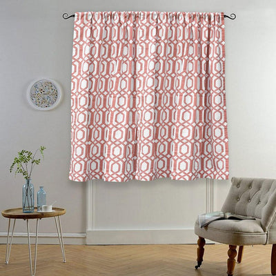MB Ruijin Printed One Piece Pocket/ Tab Top Curtain