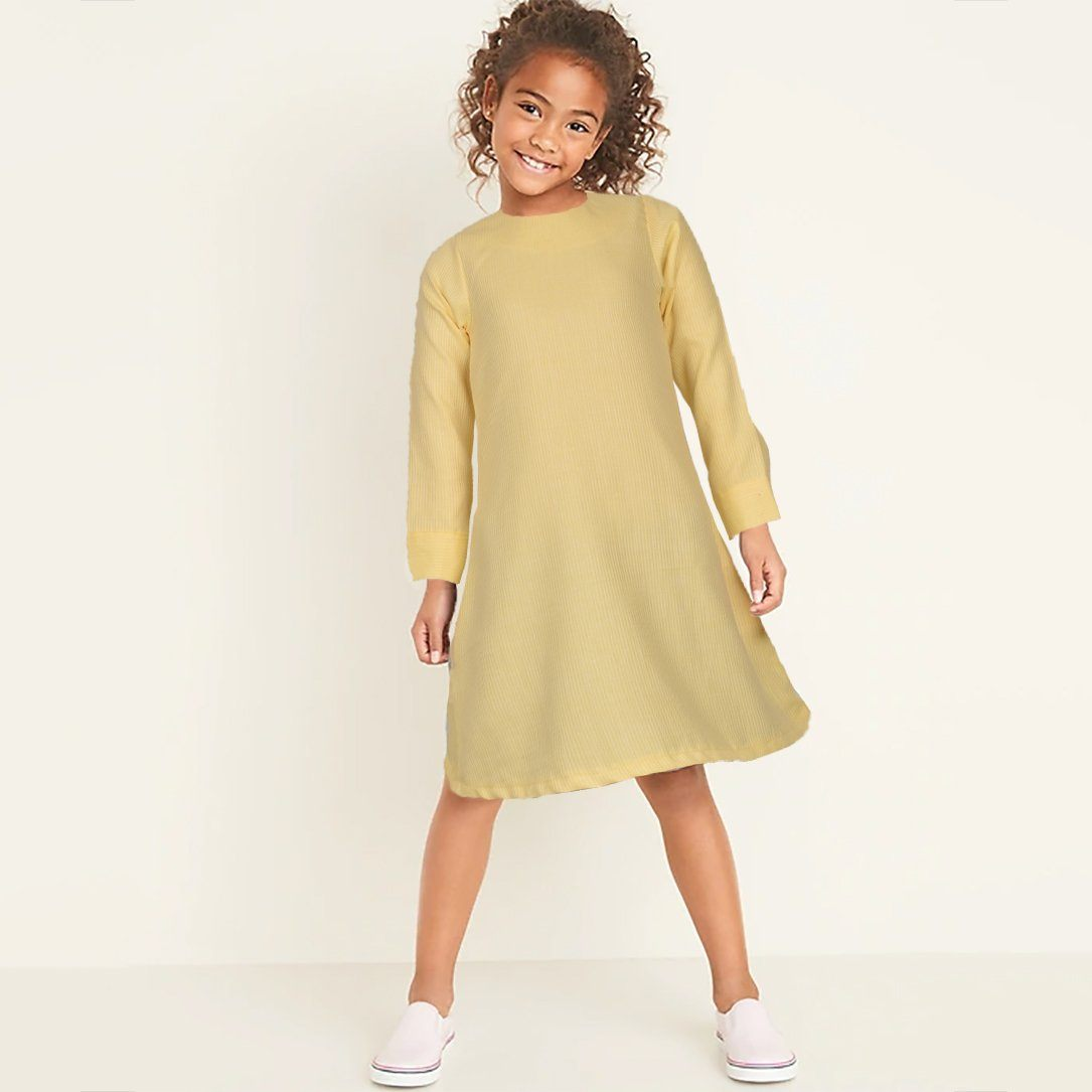 Safina Kid's Palatial Long Sleeve Frock Girl's Frock Bohotique 2-3 Years