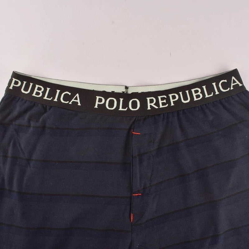 Polo Republica Football Logo Lounge Pants Men's Sleep Wear Polo Republica S