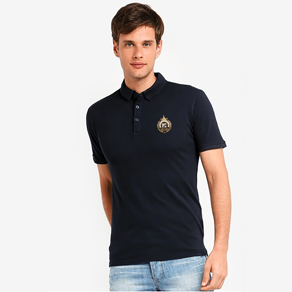 EGL Embro Classy Short Sleeves Polo Shirt Men's Polo Shirt Image Navy XS