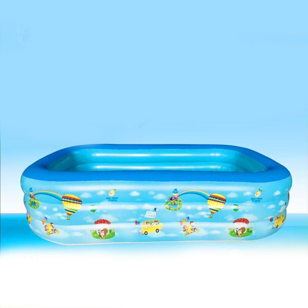 Children's Inflatable Large Size PVC Inflatable Pool Swimming Pool Sunshine China
