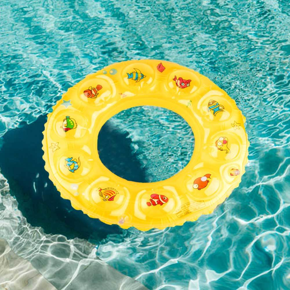 HS Elegant Under Water Characters Inflatable Kid's Swim Ring Swim Ring Sunshine China
