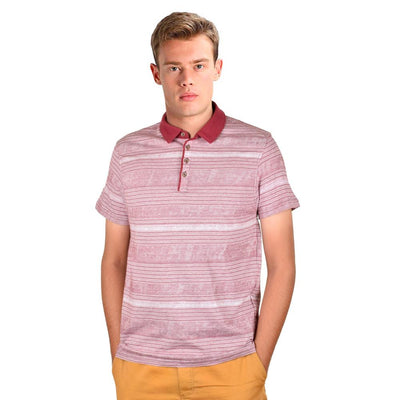 Cut Label Men's Stylish Polo Shirt Men's Polo Shirt First Choice Light Burgundy S