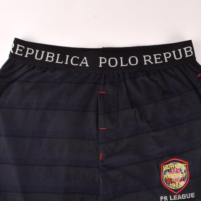 Polo Republica Men's PR Europe & World Casual Lounge Pants Men's Sleep Wear Polo Republica S