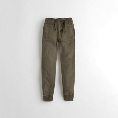 Tumble N Dry Boy's Jogger Pants Boy's Denim First Choice Olive 1.5-2 Years