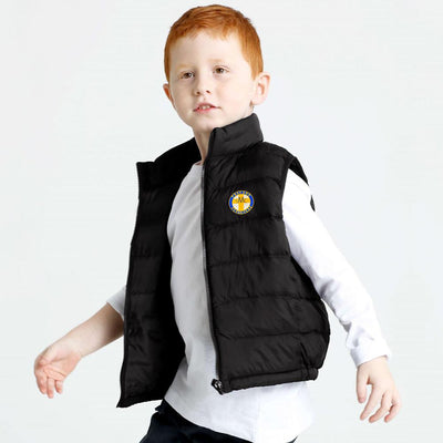 Polo Republica SMC Pray Puffer Gilet Boy's Jacket Polo Republica Black 12-18 Months