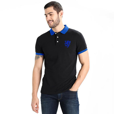 Polo Republica Leo Polo Shirt Men's Polo Shirt Polo Republica Black Royal S