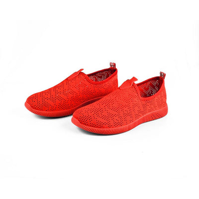 Women's Sabtawlad Breathable Canvas Shoes Women's Shoes Sunshine China Red EUR 35