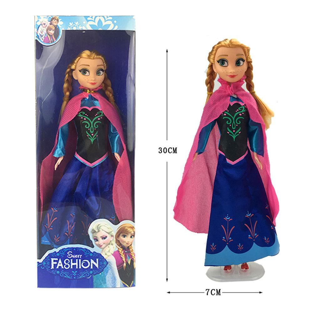 Frozen Ice Power Silicone Doll Toy Sunshine China Anna