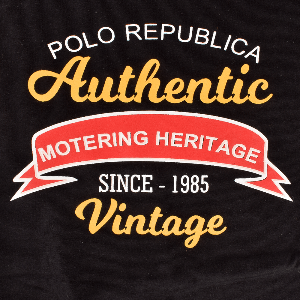 LE Authentic Motering Heritage Vintage Crew Neck Tee Shirt Men's Tee Shirt Image