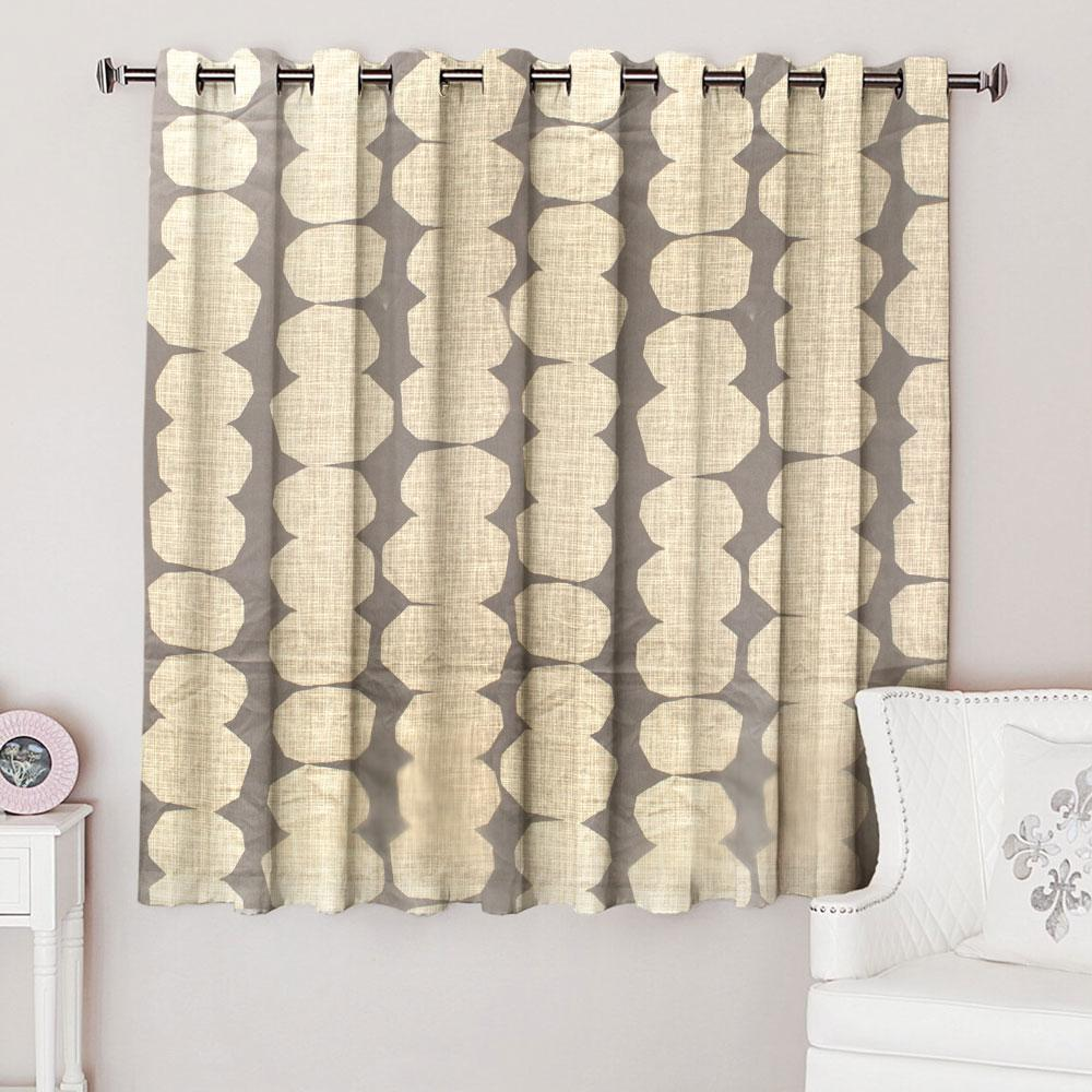 NXT Magnificent One Piece Eyelet Curtain Curtain MB Traders W-53 x L-54 Inches