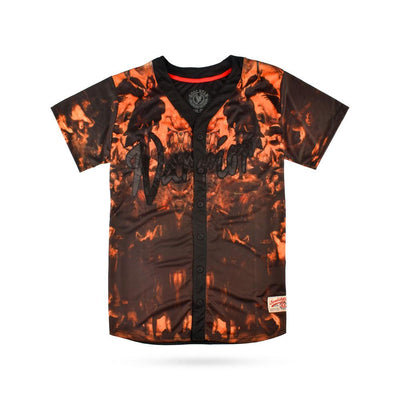 SLTR Warrior Men's Button Down Tee Shirt Men's Tee Shirt Fiza S