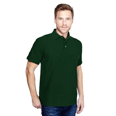 DCK Zeelami Short Sleeve Polo Shirt Men's Polo Shirt Image Bottle Green M
