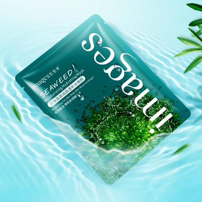 Bioaqua Images Seaweed Pack of 10 Deep Ocean Moisturizing Facial Mask Health & Beauty Sunshine China