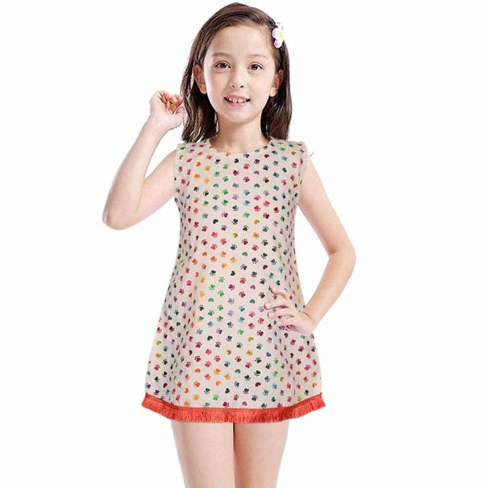 Safina Kid's Brindisi Sleeveless Frock Girl's Frock Bohotique 2-3 Years