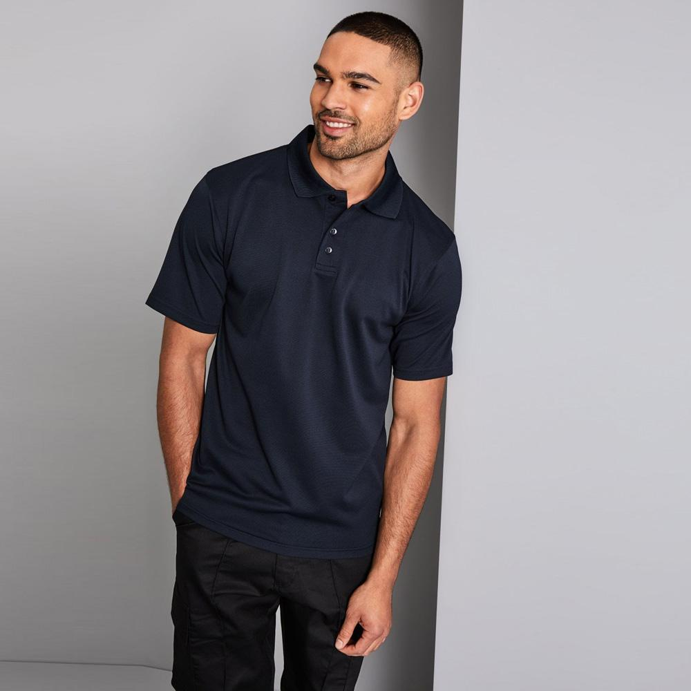 SJ Seshego Short Sleeve B Quality Polo Shirt B Quality Image Navy XXS