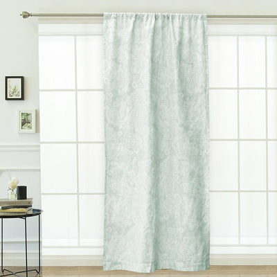 MB Sea Green One Piece Pocket Curtain Curtain MB Traders