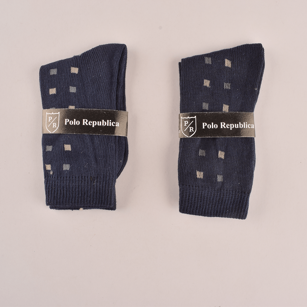 Polo Republica Kid's Pattern Style Pack of Two Crew Socks Socks RKI