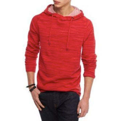 Red Camel Men's Terry Pullover Hoodie Men's Pullover Hoodie SRK Red S