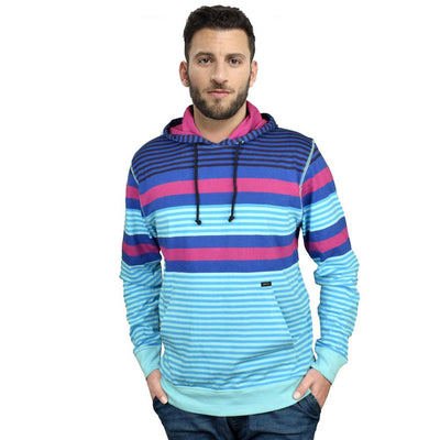 AMP Men's Yarn Dyed Stripe Malartic Pullover Hoodie Men's Pullover Hoodie First Choice S