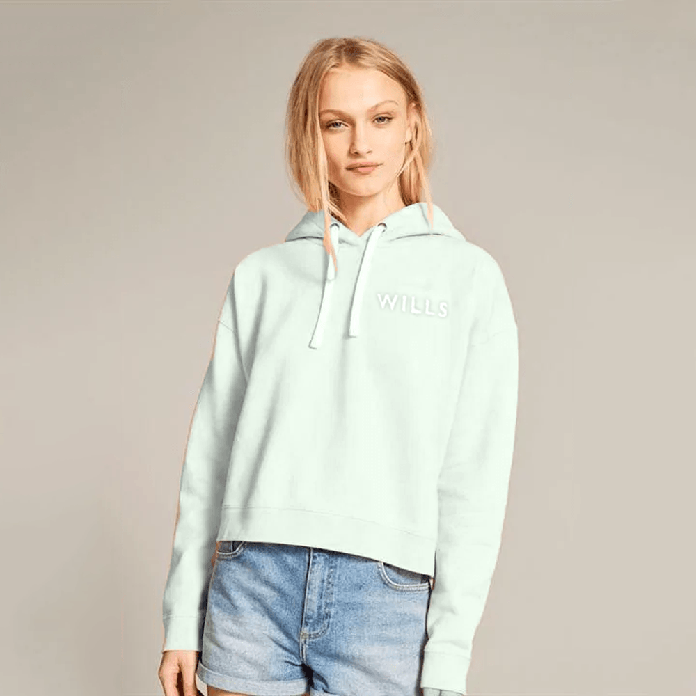 Jack Wills Women's Wills Logo Fleece Pullover Hoodie