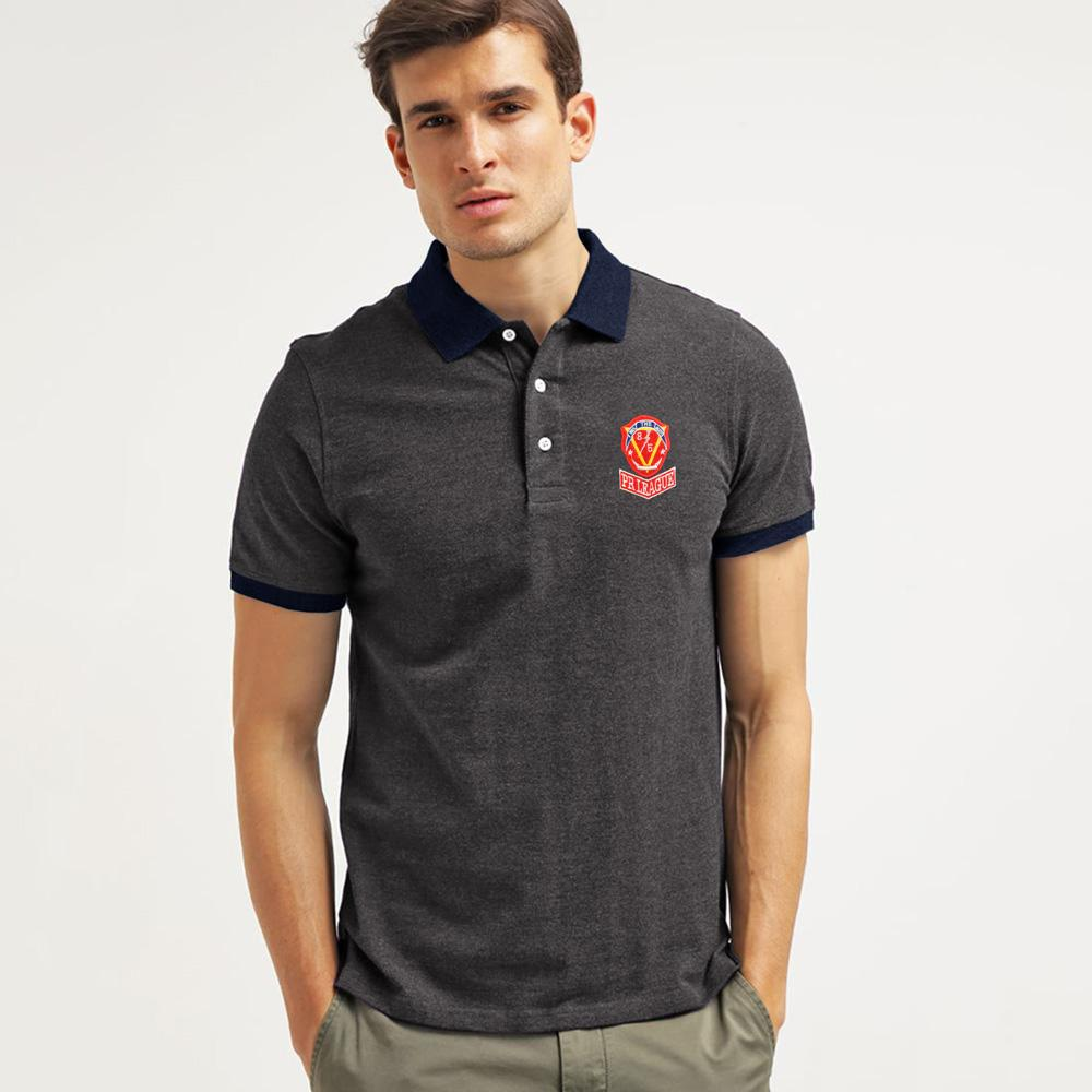 Polo Republica Brave League Polo Shirt Men's Polo Shirt Polo Republica Charcoal Navy S