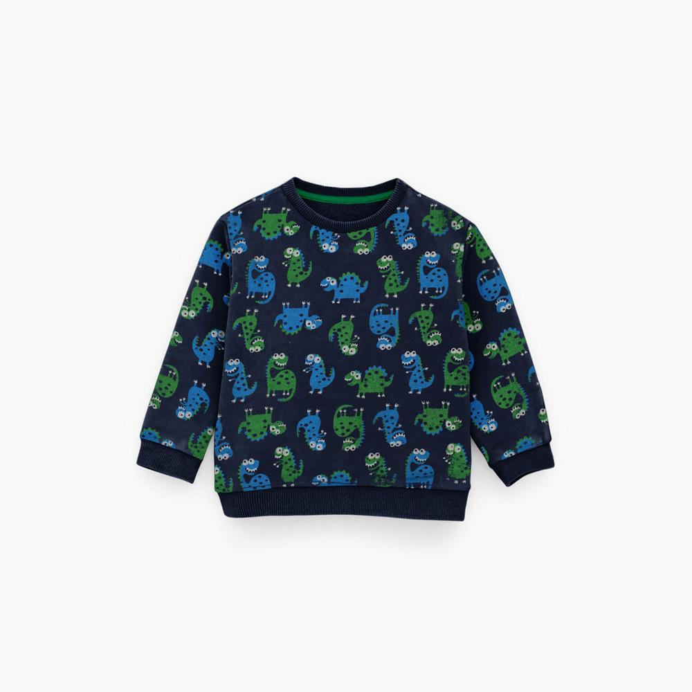 3a54af6c7 ZR Kids Cartoon Printed Fleece Sweat Shirt Boy's Sweat Shirt First Choice  3-6 Months