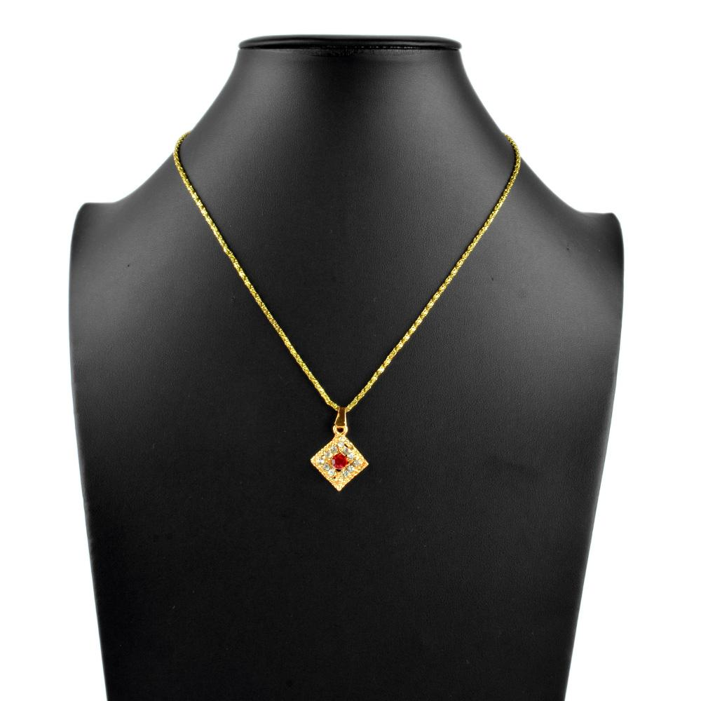 Women's Majestic Pendant Jewellery CPUQ Golden