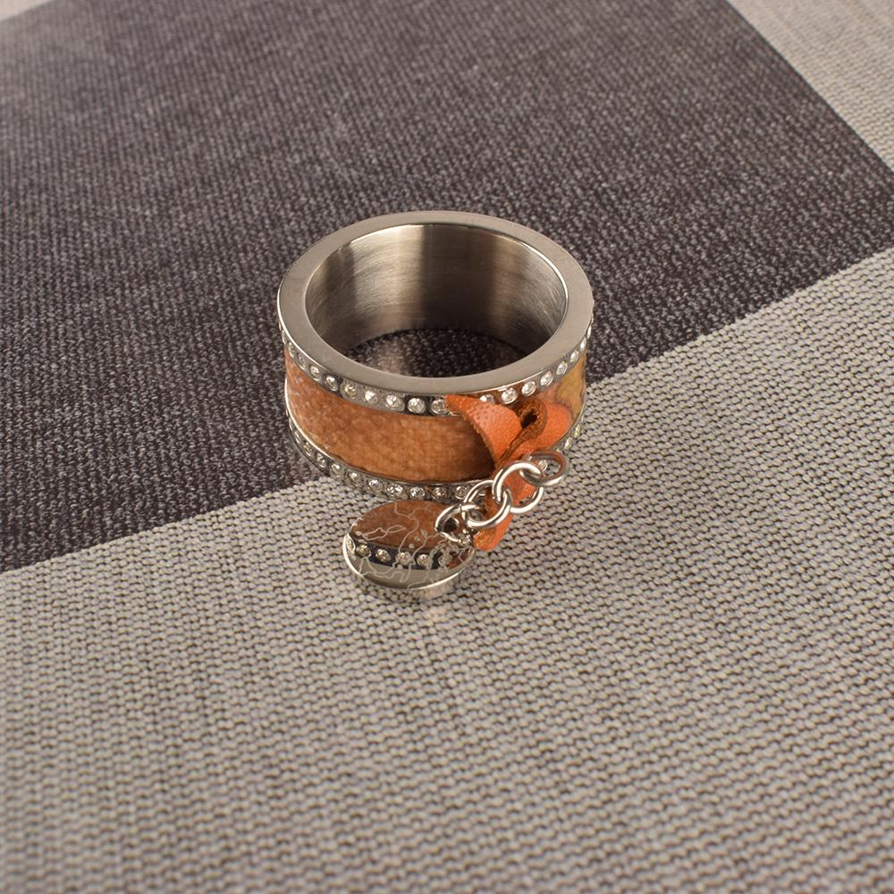 Alviero Martini Graceful Stainless Steel Ring Jewellery HDY