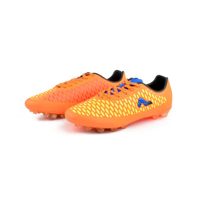 Kangta Men's Sturdy Football Shoes Men's Shoes MB Traders Fluorescent Orange EUR 38