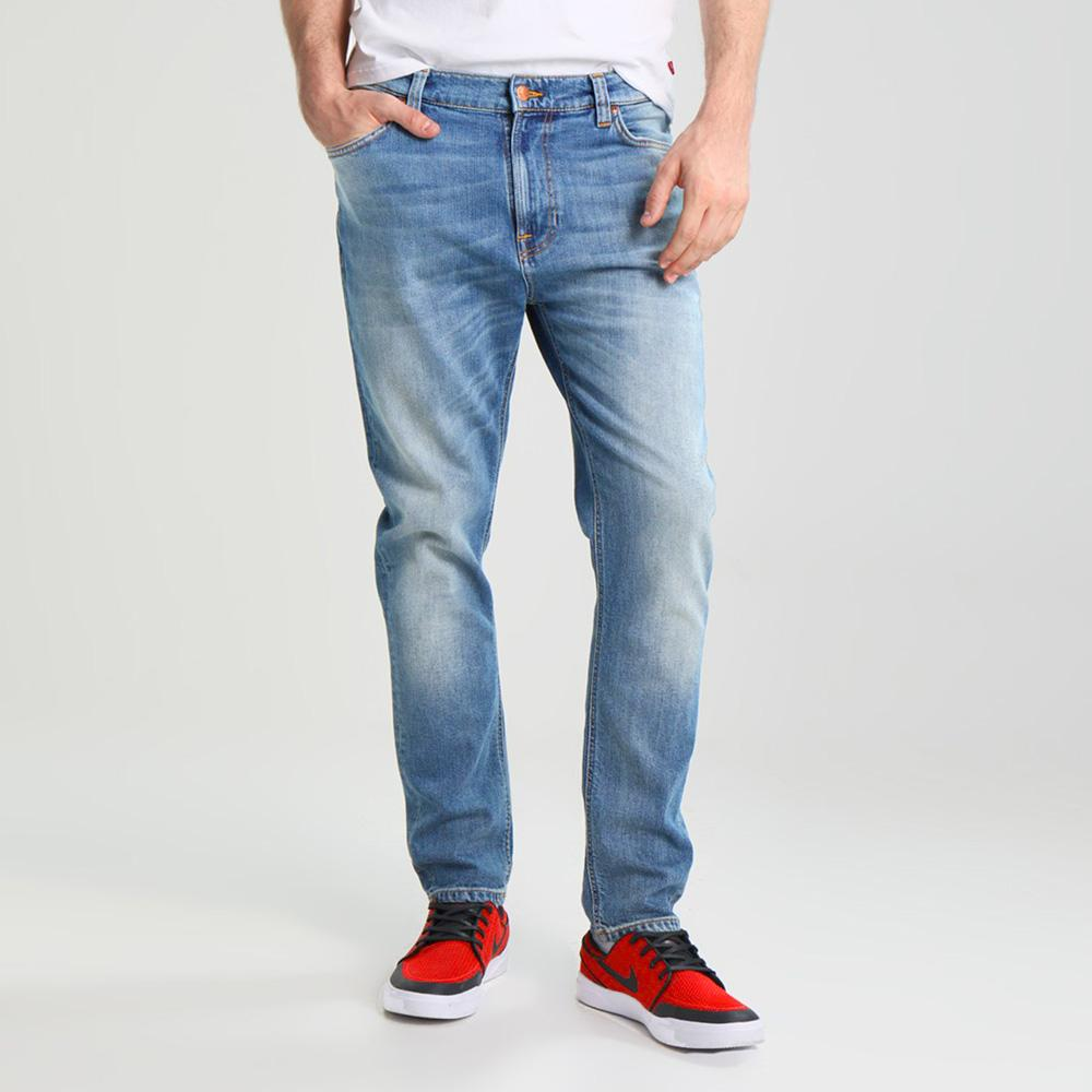 DNM Regueb Mid Wash Straight Fit Denim
