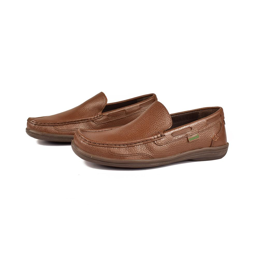 Desiderio Warsaw 007 Moccasin Shoes Men's Shoes SFS Brown EUR 40