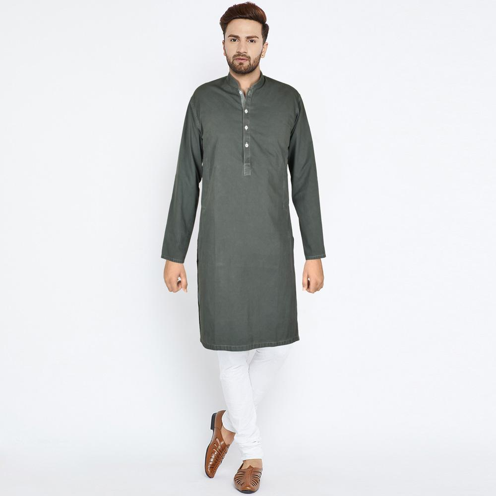 Polo Republica Men's Trendy Light Zink Minor Fault Kurta Minor Fault MB Traders