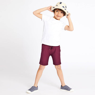 ZR Kid's Classic Solid Terry Shorts Kid's Shorts First Choice