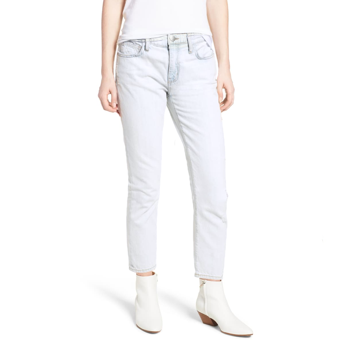Weekday Women's Light Wash Straight Fit Denim Women's Denim SRK 24 30