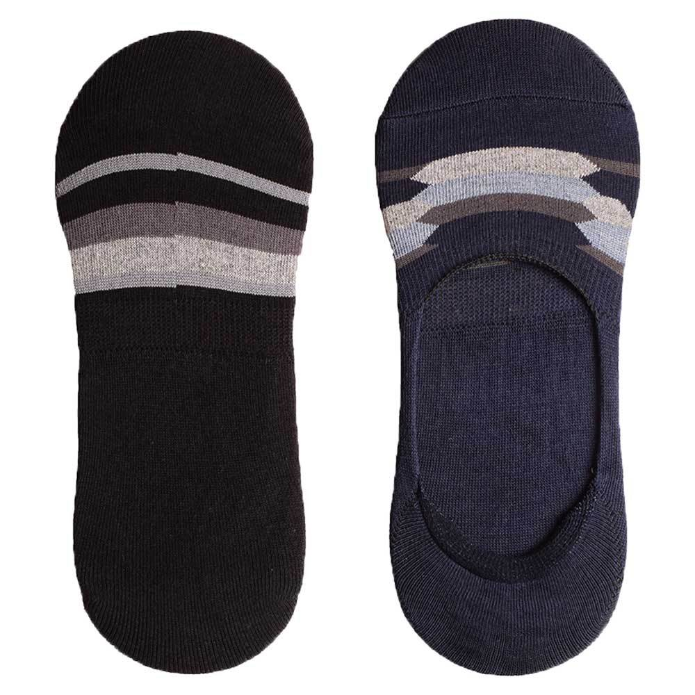 UNISEX No Show Invisible Socks Pair Socks Mouzay Assorted