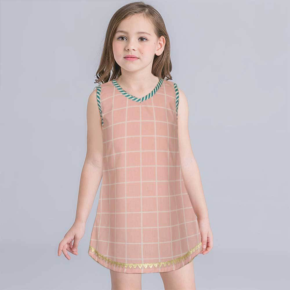 Safina Kid's Nanaimo Sleeveless Frock Girl's Frock Bohotique 2-3 Years