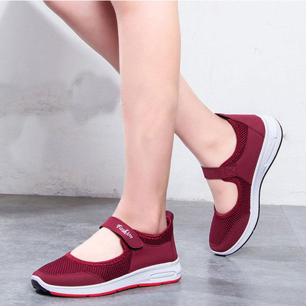 Women's Breathable Mesh Ballet Flats Loafers Women's Shoes Sunshine China