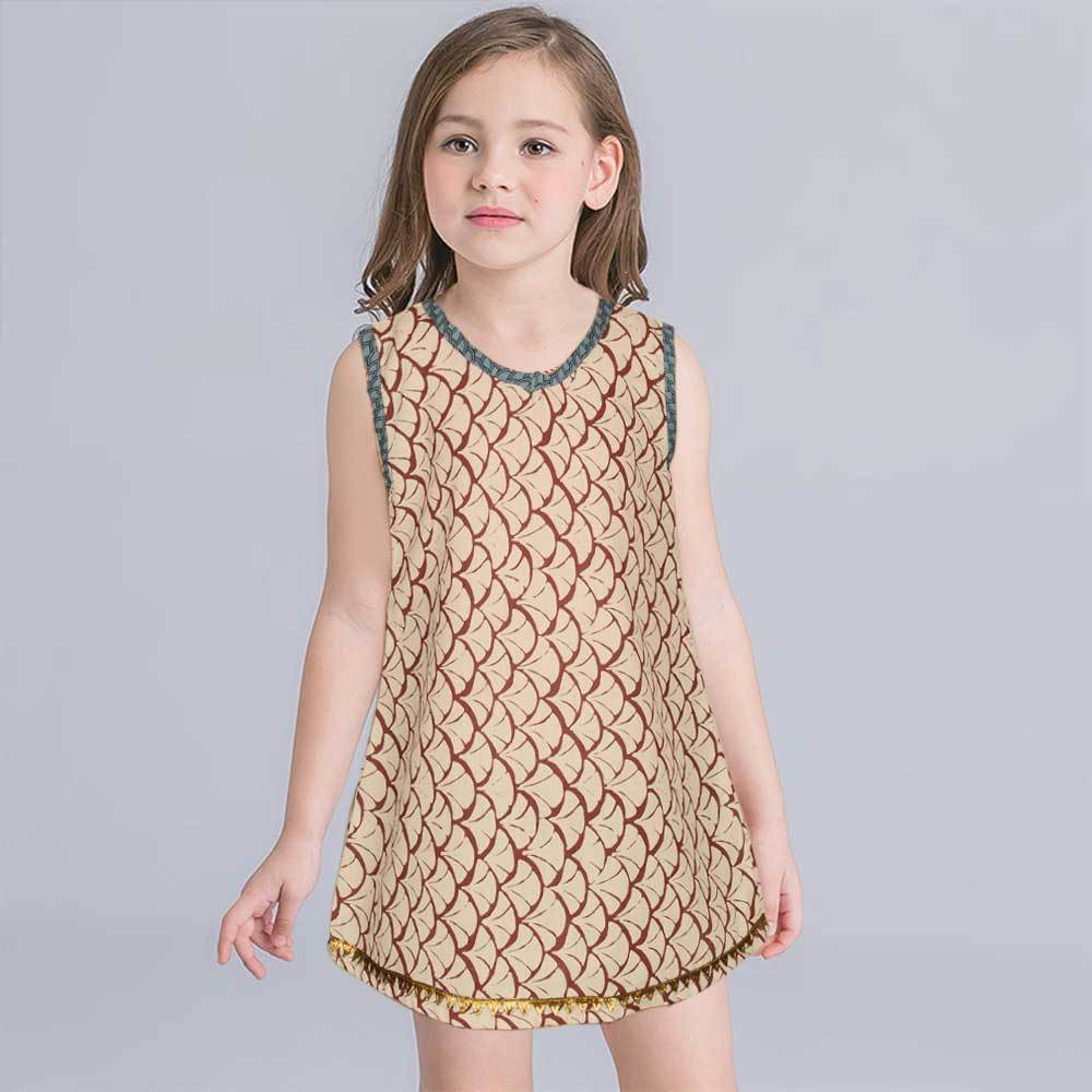 Safina Kid's Brussels Sleeveless Frock Girl's Frock Bohotique 2-3 Years