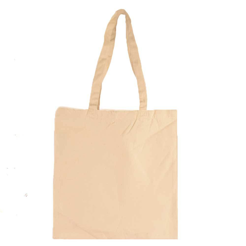 MB Multi Function Canvas Tote Bag Hand Bag MB Traders Cream